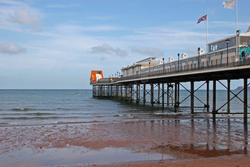 Paignton Pier stockfotos