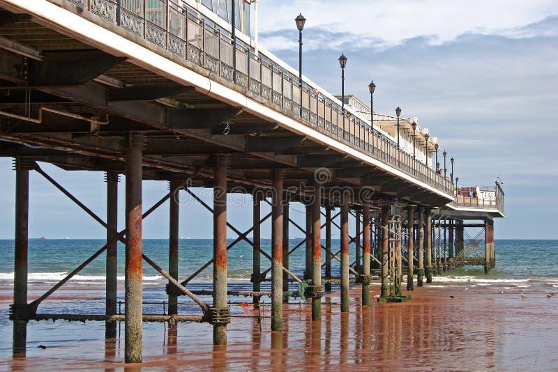 Paignton Pier stockbild