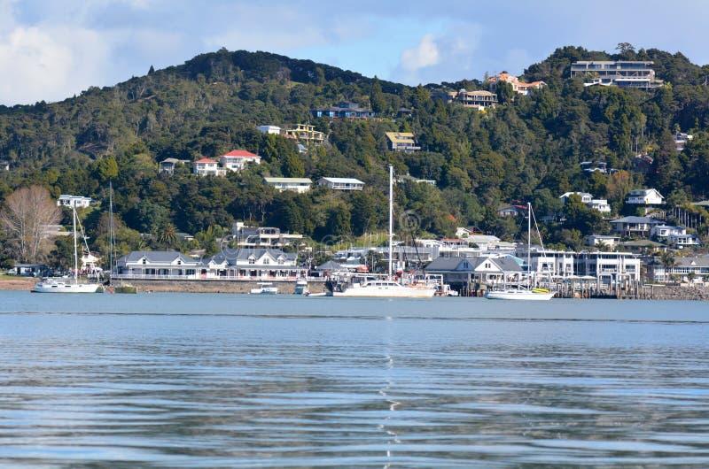 Paihia - baie des îles Nouvelle-Zélande photo libre de droits