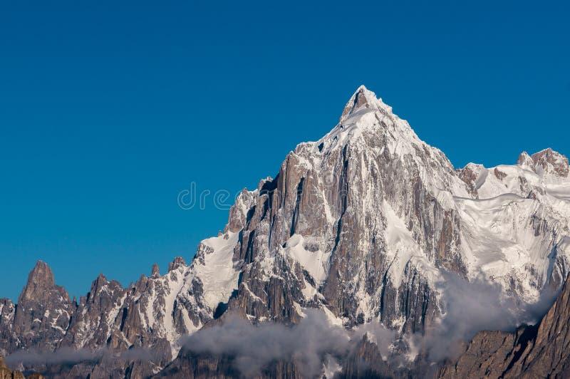 Paiju-Bergspitze, K2 Wanderung, Pakistan lizenzfreie stockfotos