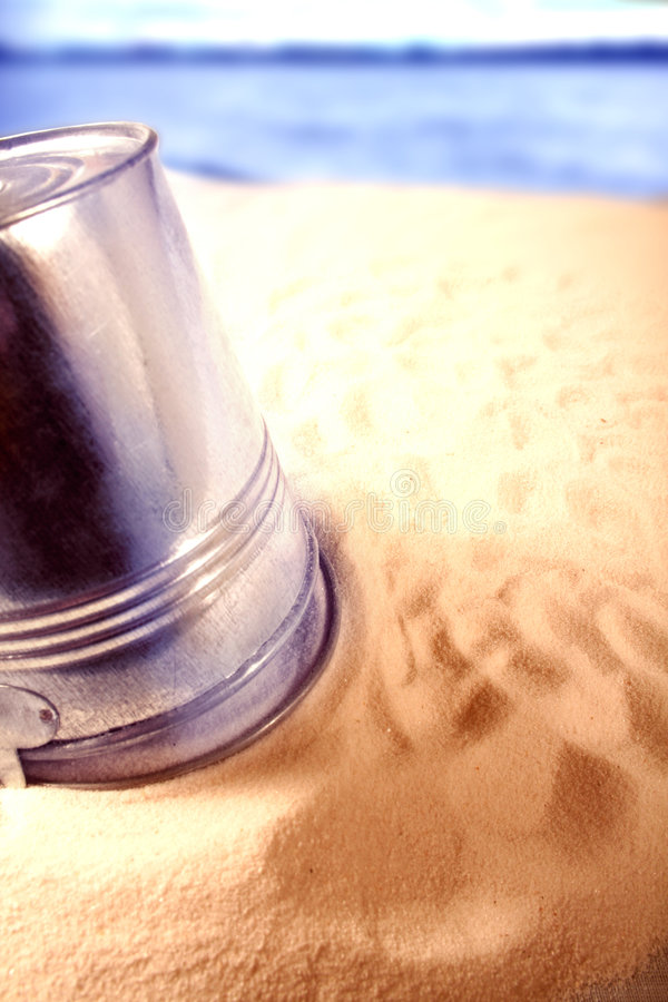 Download Pail stock photo. Image of dirt, metal, sunshine, vacation - 516286