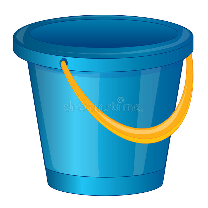 Free Pail From Plastic Arts Royalty Free Stock Image - 55762756