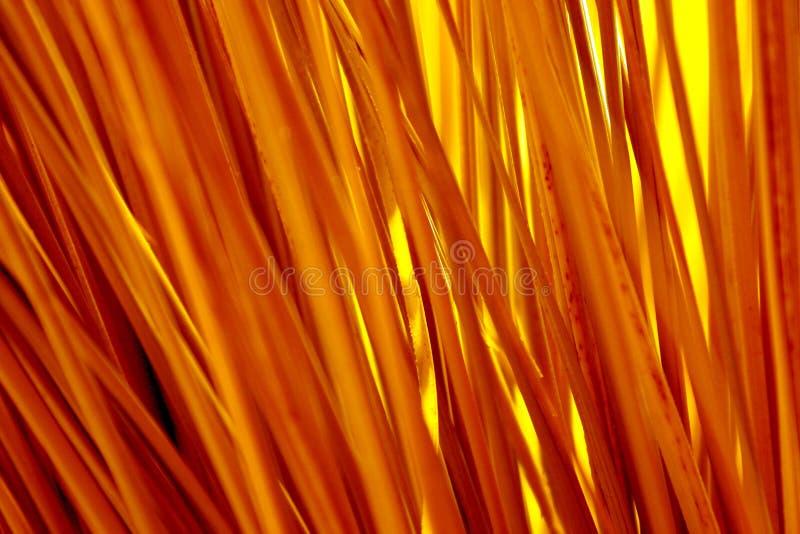 Pailles Lumineuses De Jaune De Couleur Images stock