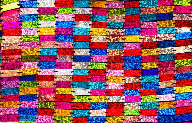 Paillettes colorées. photo stock