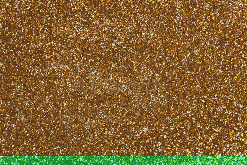 Paillettes d'or - textile pailleté de scintillement image stock