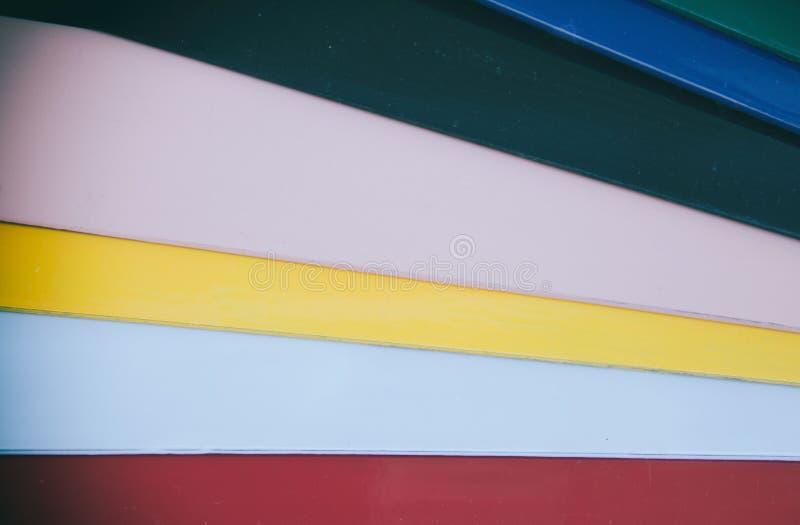 Painéis coloridos foto de stock royalty free