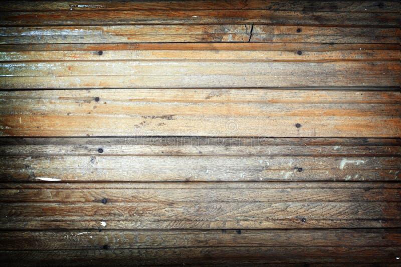 Painéis da madeira com pregos foto de stock royalty free