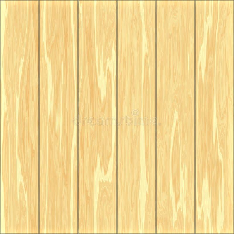 Painéis de madeira ilustração stock