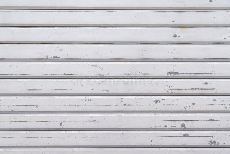 Painéis de madeira abstratos do estilo antigo branco de madeira da placa do fundo imagens de stock royalty free