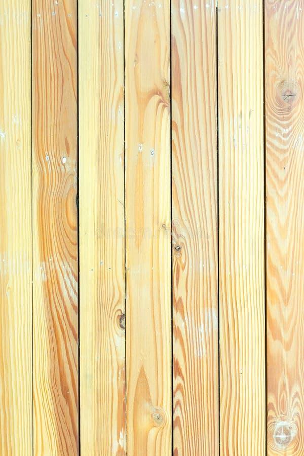 Painéis de madeira marrons grandes usados como a textura do fundo imagem de stock royalty free