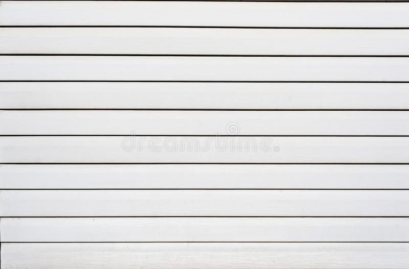 Painéis de tapume plásticos brancos para o fundo da textura imagens de stock
