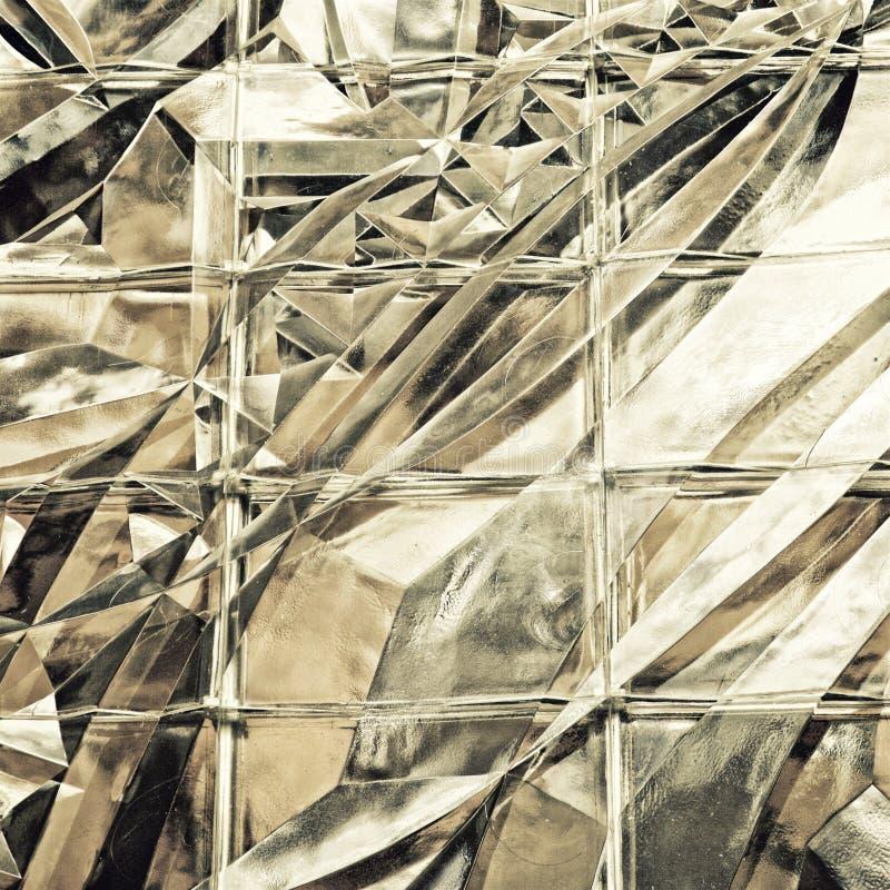 Painéis de vidro elegantes luxuosos abstratos fotos de stock
