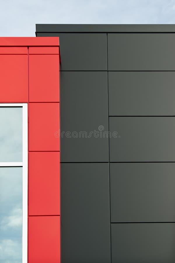Painéis modulares do edifício fotografia de stock royalty free