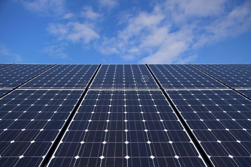 Painéis solares imagens de stock royalty free