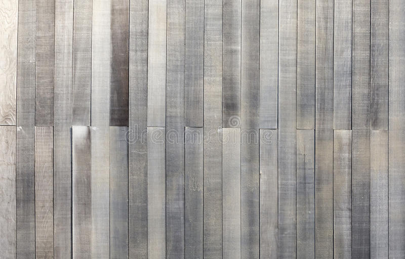 Painéis velhos do fundo de madeira preto e branco da textura imagem de stock royalty free
