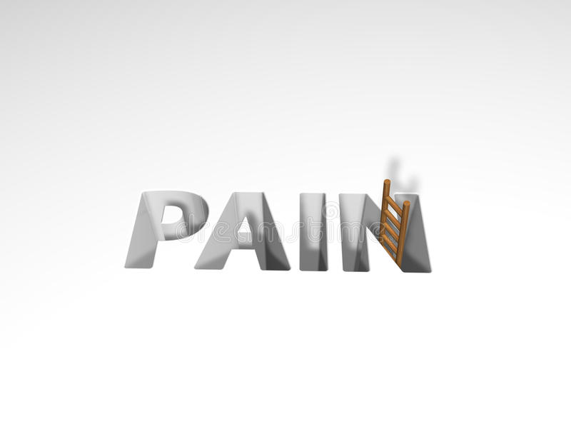 Download Pain stock illustration. Illustration of suffering, letters - 21217316