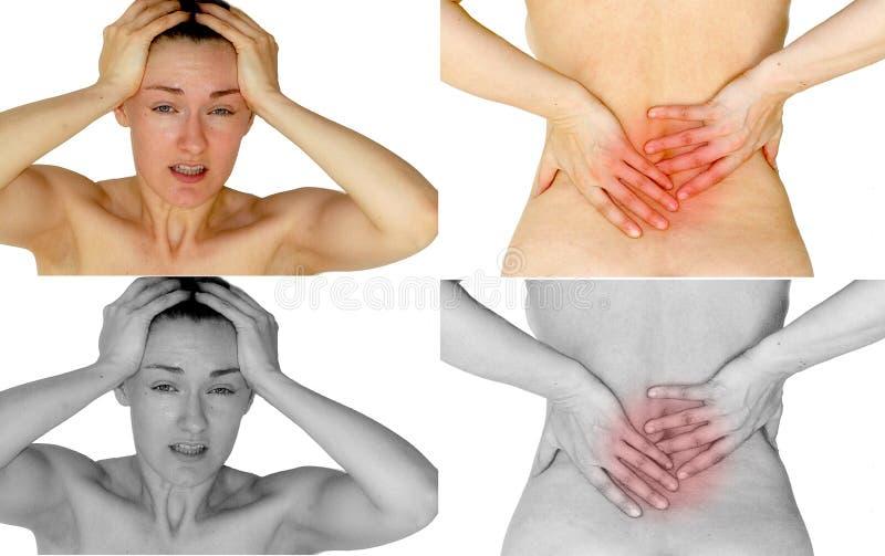 Pain royalty free stock photo