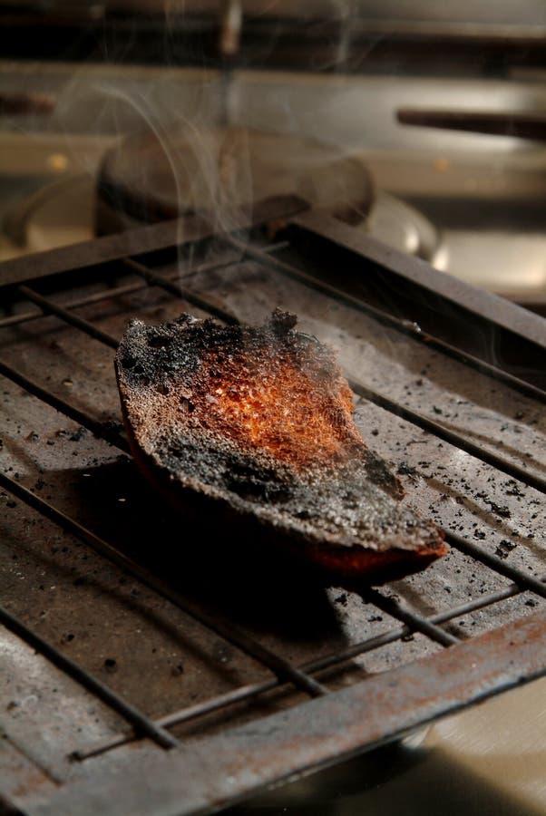 Pain brûlé photographie stock libre de droits
