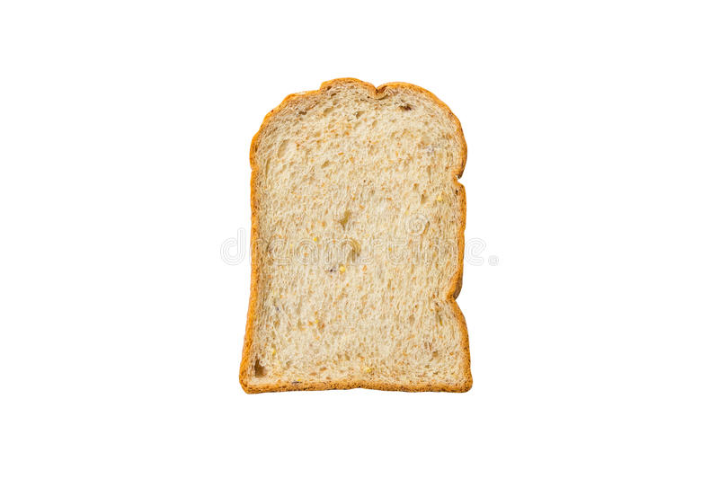 Download Pain Coupé En Tranches Sur Le Fond Blanc Image stock - Image du carbohydrate, farine: 87703061