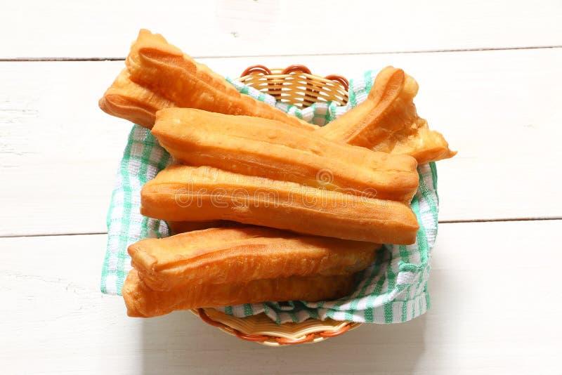 Pain cuit à la friteuse bâton-vous Tiao photos libres de droits