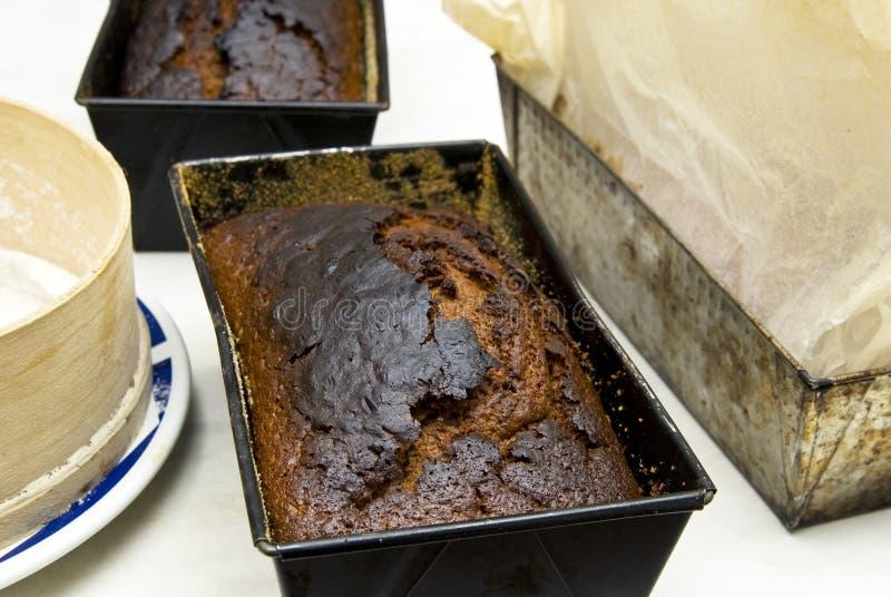 Pain d'épice cuit au four photographie stock libre de droits