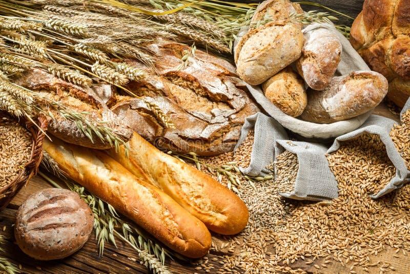 Pain de blé entier image libre de droits