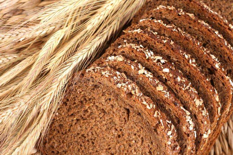 Pain de blé entier images libres de droits