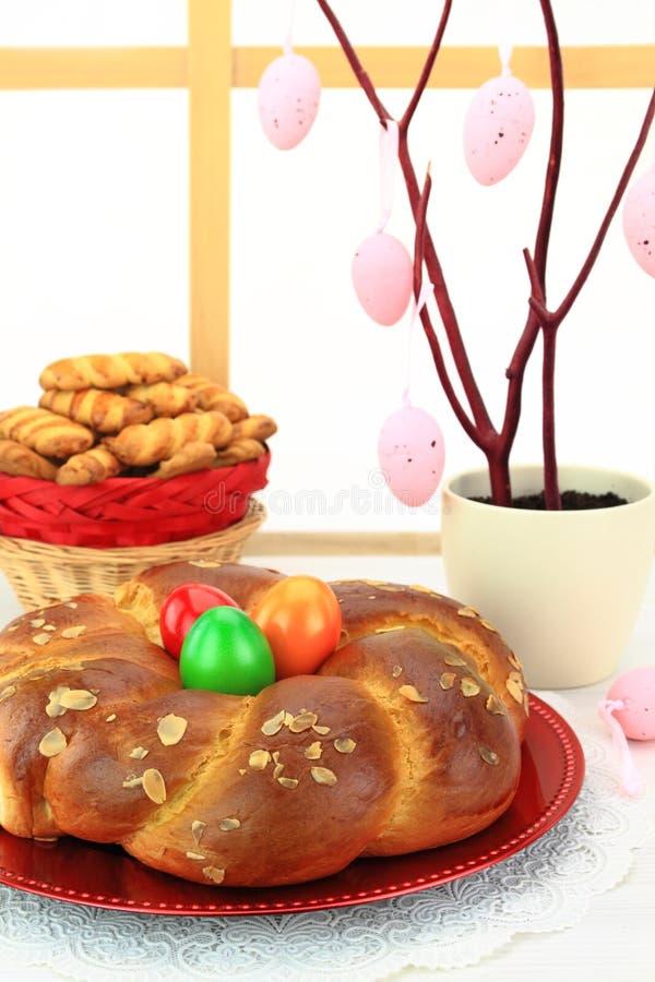 Pain de bonbon à Pâques image stock