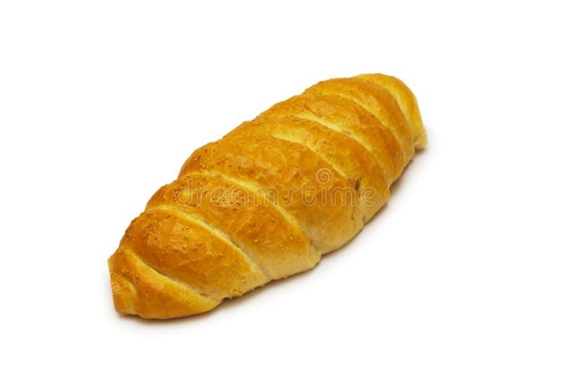 Pain de pain d'isolement image stock