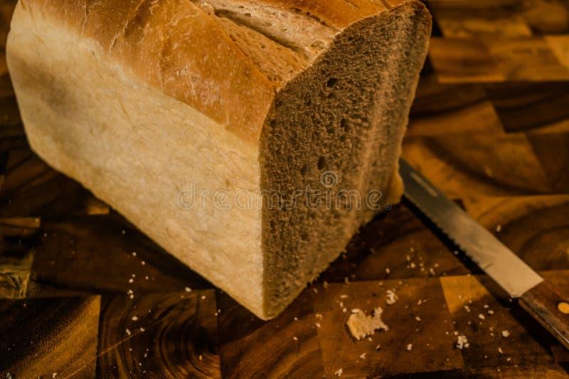 Pain de pain de plan photo libre de droits