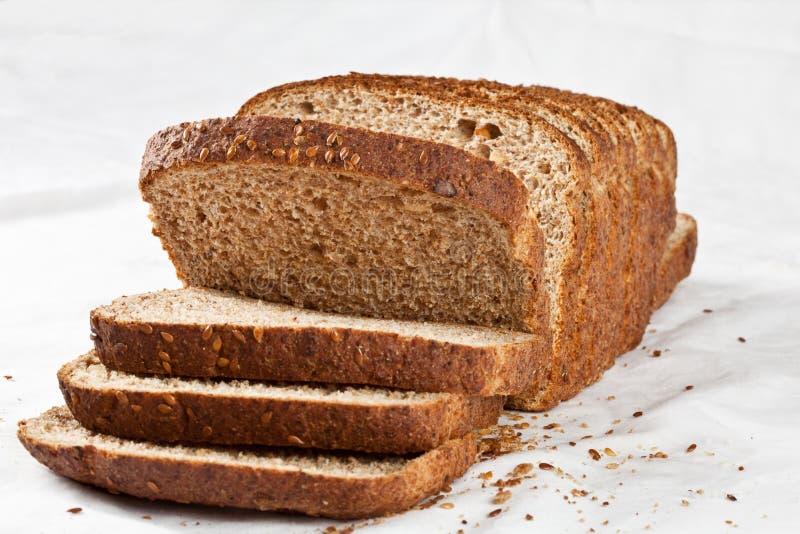 Pain de pain grillé de blé entier photos stock