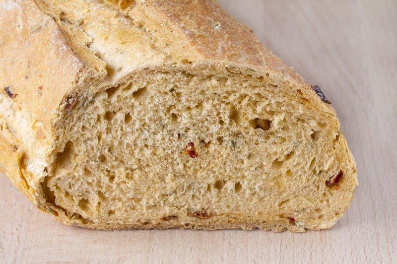 Pain de pain méditerranéen photographie stock