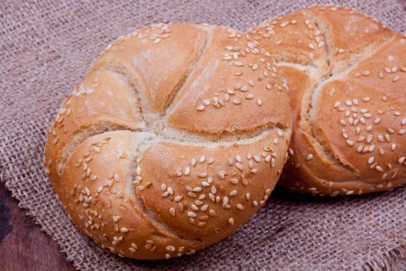 Pain de petit pain de Kaiser photographie stock libre de droits