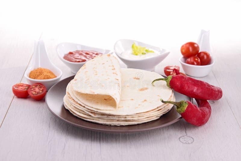Pain de tacos photo stock