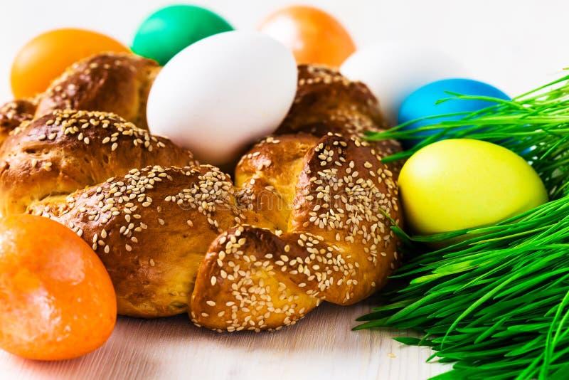 Pain doux de Pâques image libre de droits