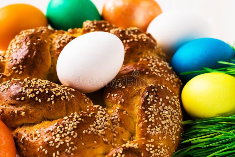Pain doux de Pâques photographie stock libre de droits