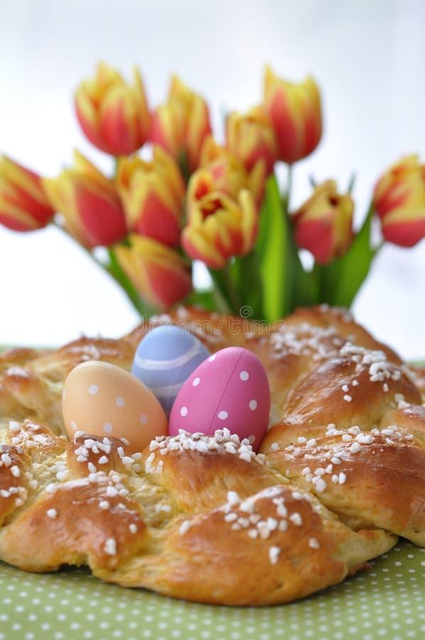 Pain doux de Pâques d'Allemand images libres de droits