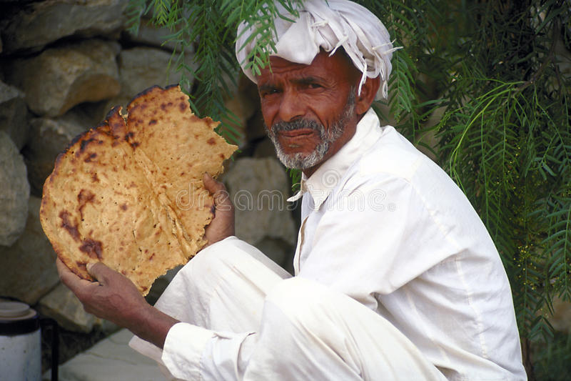 Pain du Yémen photographie stock libre de droits