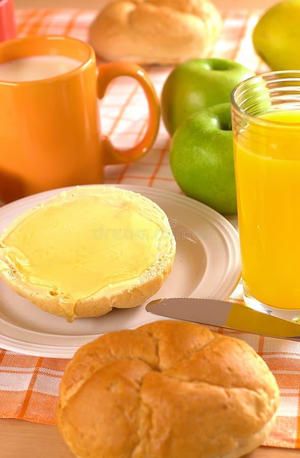 Pain et beurre et miel   photos libres de droits