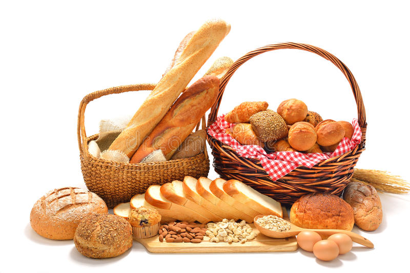 Pain et petits pains photos libres de droits