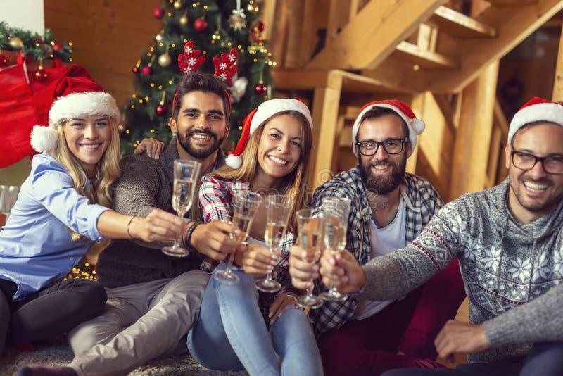 Pain grillé de Noël image stock