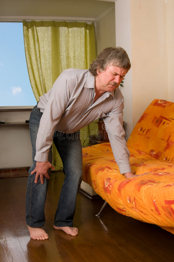 Free Pain In A Knee Stock Photography - 9100682
