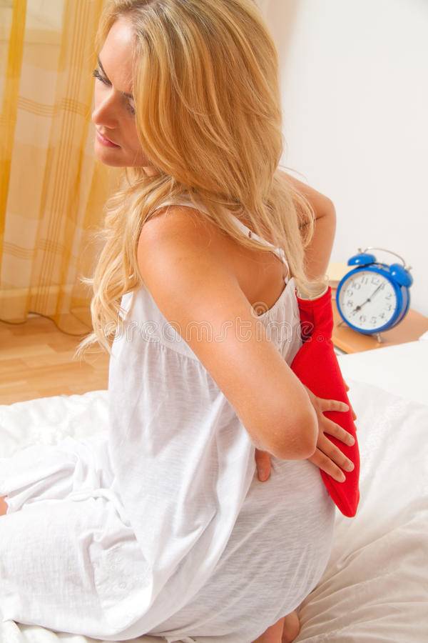 Free Pain In The Back. Intervertebral Disc And Spinal Stock Images - 15619294