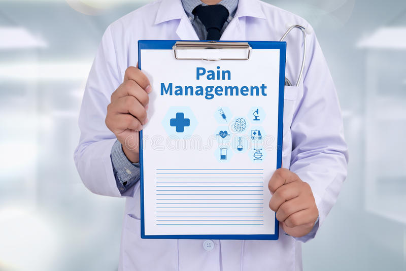 Pain Management stock images