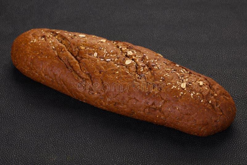Pain noir de pain photo stock