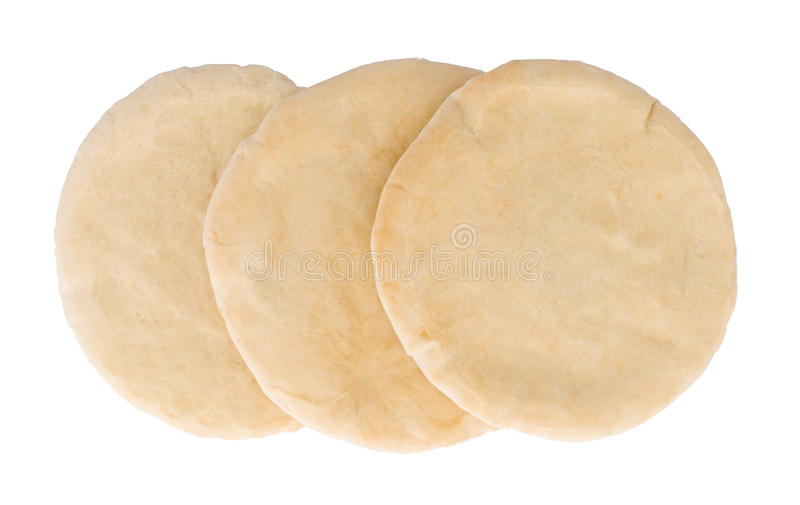 Pain pita plat israélien de pain photographie stock