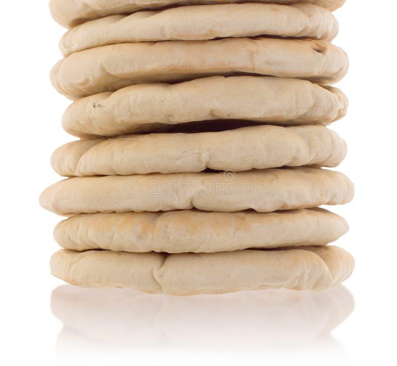 Pain pita plat israélien de pain photos libres de droits