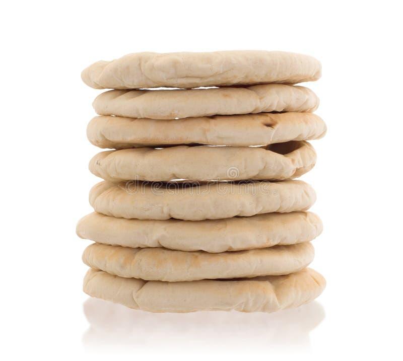 Pain pita plat israélien de pain photos stock