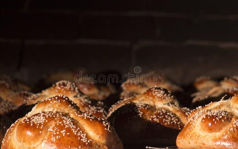 pain traditionnel du jour des hojaldras morts du Mexique photo stock