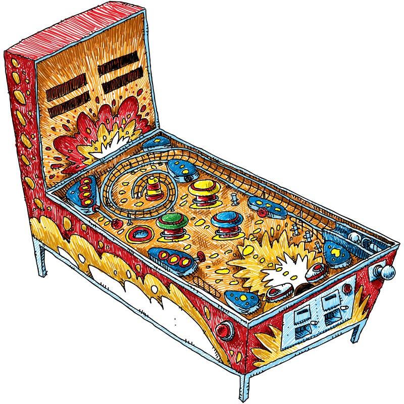 Painball maszyna royalty ilustracja